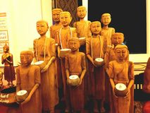 Buddha oświetleniowa świątynia Obrazy Royalty Free