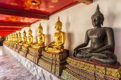 Buddha obsiadanie Zdjęcia Royalty Free
