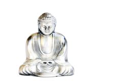 buddha obsiadanie Fotografia Royalty Free