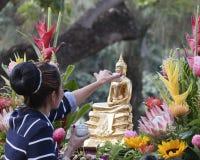 Buddha Odświeżał Zdjęcie Royalty Free