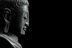 Free Buddha On Black Royalty Free Stock Photos - 19019068