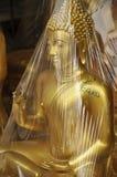 Buddha Opakunek Mosiężny Nowy Obraz Royalty Free