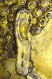 Buddha& x27 ; oreilles de s, le visage de Bouddha Photos libres de droits