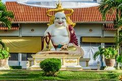 Buddha på Mahapanya Vidayalai Fotografering för Bildbyråer