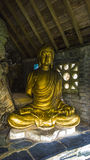 Buddha på Portmerion Arkivfoton