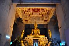 Buddha på Wat Chedi Hoi Arkivbilder