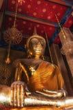 Buddha på Wat Kalayanamit, Bangkok, Thailand Fotografering för Bildbyråer