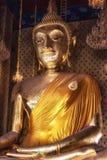 Buddha på Wat Kalayanamit, Bangkok, Thailand Royaltyfri Foto
