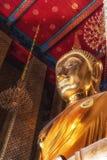Buddha på Wat Kalayanamit, Bangkok, Thailand Royaltyfria Foton