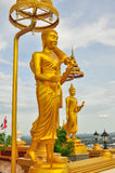 Buddha på Wat Kiriwong Arkivbilder
