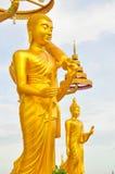 Buddha på Wat Kiriwong Arkivfoton