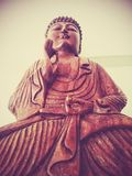 Buddha a pace Fotografia Stock