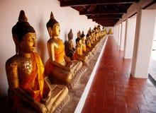Buddha in padiglione Fotografia Stock