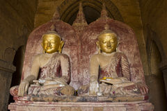 Buddhas in Pagan Royalty Free Stock Photos