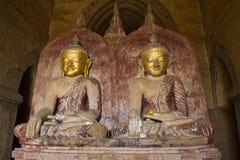 Buddhas in Pagan Royalty Free Stock Photos