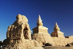 Buddha pagoda in heicheng royalty free stock photos