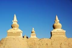 Buddha pagoda in heicheng of china royalty free stock photography