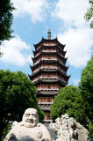 Buddha Pagoda in Suzhou Royalty Free Stock Image
