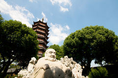 Buddha Pagoda in Suzhou Royalty Free Stock Photography