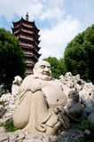 Buddha Pagoda in Suzhou Royalty Free Stock Images