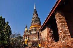 buddha pagodastaty Fotografering för Bildbyråer