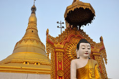 Buddha-Pagode Lizenzfreie Stockfotos