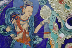 Buddha painting Stock Photography