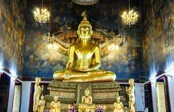 Buddha among paradise panting Royalty Free Stock Image