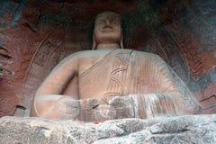 Buddha in parco Immagini Stock