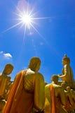 Buddha park Zdjęcia Royalty Free