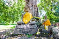 Buddha in Park City vecchio Phichit Immagini Stock
