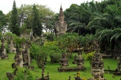 Buddha park,laos Stock Photos