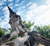 Buddha park.Tourist attraction and public park in Vientiane Laos Stock Photo