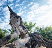 Buddha park.Tourist attraction and public park in Vientiane Laos Stock Photo