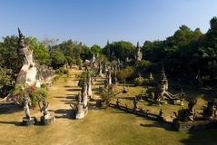 Buddha Park, Vientiane. Laos Royalty Free Stock Images