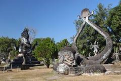 Buddha parkerar Arkivbild