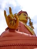 Buddha parkerar av den Ravangla staden, den Sikkim staten i Indien, 15th April, Royaltyfri Fotografi