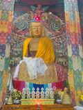 Buddha parkerar av den Ravangla staden, den Sikkim staten i Indien, 15th April, Arkivbilder