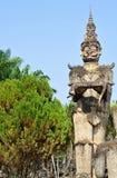 Buddha parkerar i Laos Royaltyfria Bilder