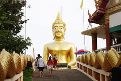 buddha pattaya thailand wat Arkivfoton