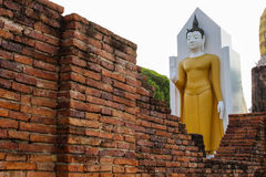Buddha. Phitsanulok / Thailand - March 11 : People come to pray and to see the beautiful views Stock Photography