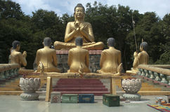 Buddha. Phnom argument za. Kompong Cham. Kambodża Fotografia Royalty Free
