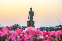 buddha phutthamonthonstaty Arkivfoto