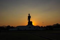 buddha phutthamonthonstaty Royaltyfri Fotografi