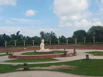 Buddha place is in Chandigarh. Enjoyment, awesome stock photos