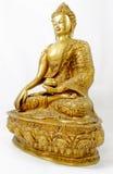 buddha placerade sidosikt Arkivbilder