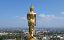 buddha plattform staty Arkivfoton