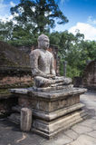 Buddha in Polonnaruwa temple - medieval capital of Stock Photos