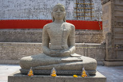 Buddha in Polonnaruwa temple - medieval capital of Stock Image