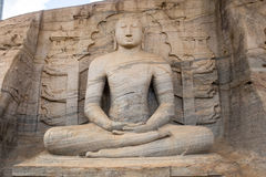 Buddha in Polonnaruwa temple - medieval capital of Stock Photo